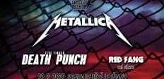 Metallica Tickets + Hotel ab