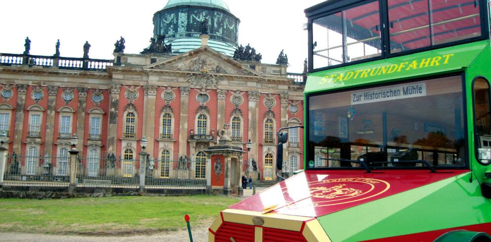 Kaiser-Tour Stadtrundfahrt Potsdam 15553