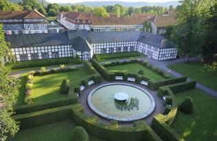 Luxus und Wohlbefinden im privaten Landschaftspark im Teutoburger Wald