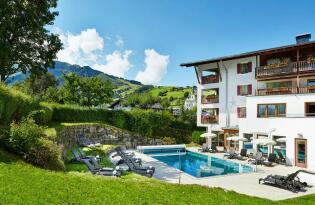 Wohlfühlurlaub mit einmaligem Alpenpanorama im Salzburger Land