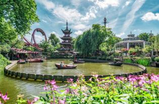 Hübsche Parks und pures Adrenalin in einem der ältesten Vergnügungsparks