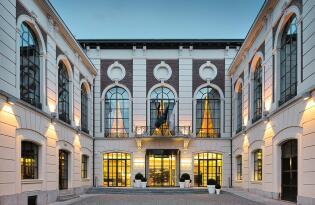 Luxuriöses Stadthotel im Herzen von Lüttich