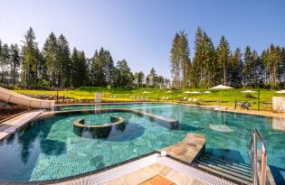 Ferienpark für Groß und Klein in fantastischer Natur am Fuße der Alpen