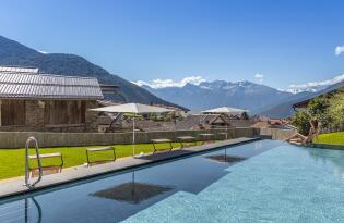 Stilvolle Auszeit mitten in den italienischen Alpen genießen
