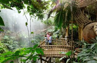 Tropen, Natur pur und Familienspaß im ersten Center Parcs Europas