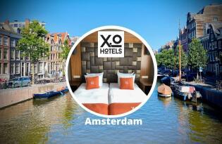 Modernes Hotel in Amsterdam