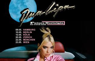 Erleben Sie die Future Nostalgia Tour am 22.05.2022 in der Münchener Olympiahalle
