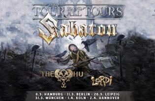 Erleben Sie die Heavy-Metal Legenden auf ihrer The Tour to End All Tours Tour am 01.04.2022 in Köln