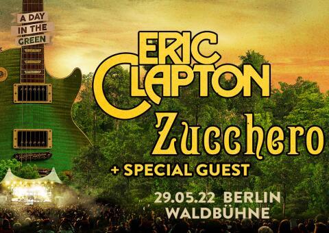 Eric Clapton und Zucchero 2022 in Berlin