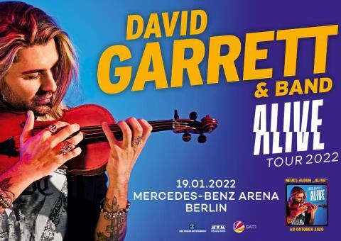 David Garrett & Band ALIVE Tour 2022 - Berlin