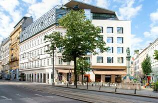 Hochwertiges Hotel im Universitätsviertel von Wien