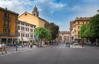 Genießen Sie den italienischen Charme im Zentrum Veronas