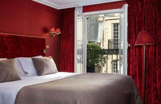 Elegantes Wohlfühlambiente im romantischen Paris