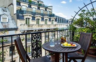 Royaler Komfort mit romantischem Flair in Paris