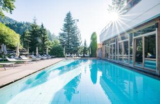 Ein traumhafter Wellnessurlaub in Südtirol für die ganze Familie