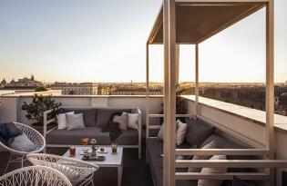 Stadthotel mit Ausblick über Rom