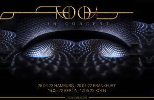 Endlich wieder auf Europa-Tour: Erleben Sie Tool live am 29.04.2022 in Frankfurt